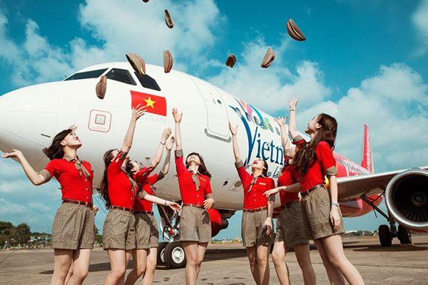 Bảng giá vé Vietjet Air
