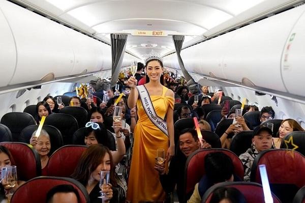 """Vietjet cũng là hãng bay """"chăm chỉ"""" khai thác nhiều đường bay mới"""